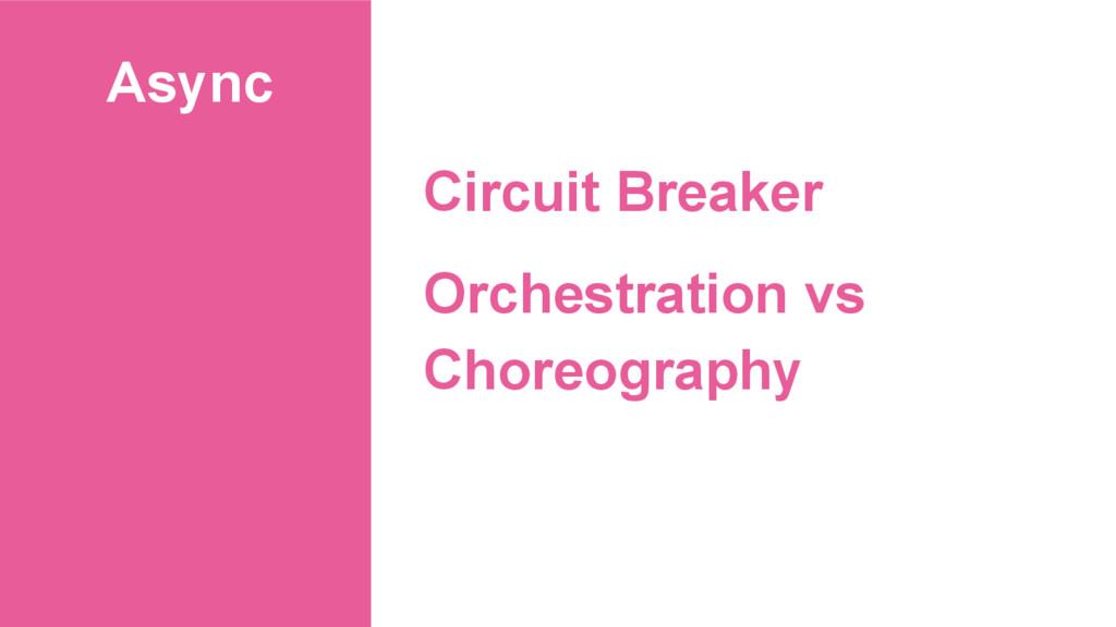 Async Circuit Breaker Orchestration vs Choreogr...