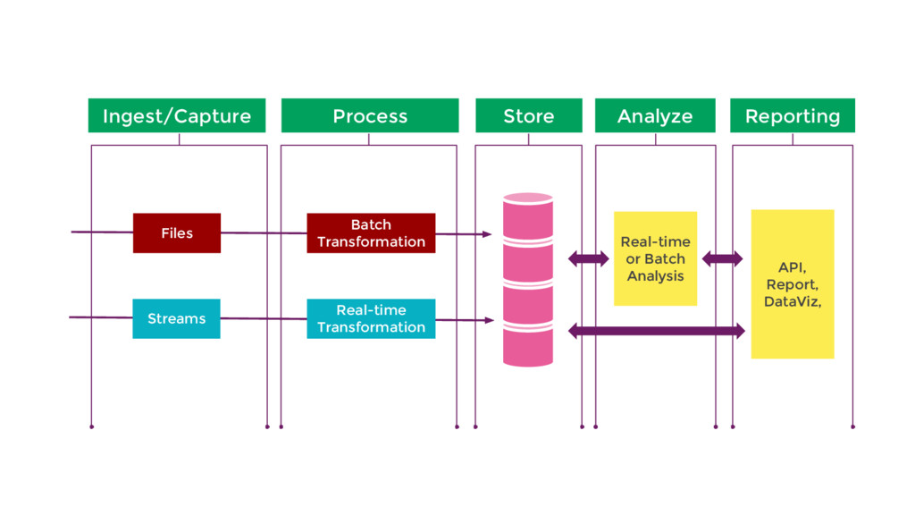 Ingest/Capture Store Analyze Process Reporting ...
