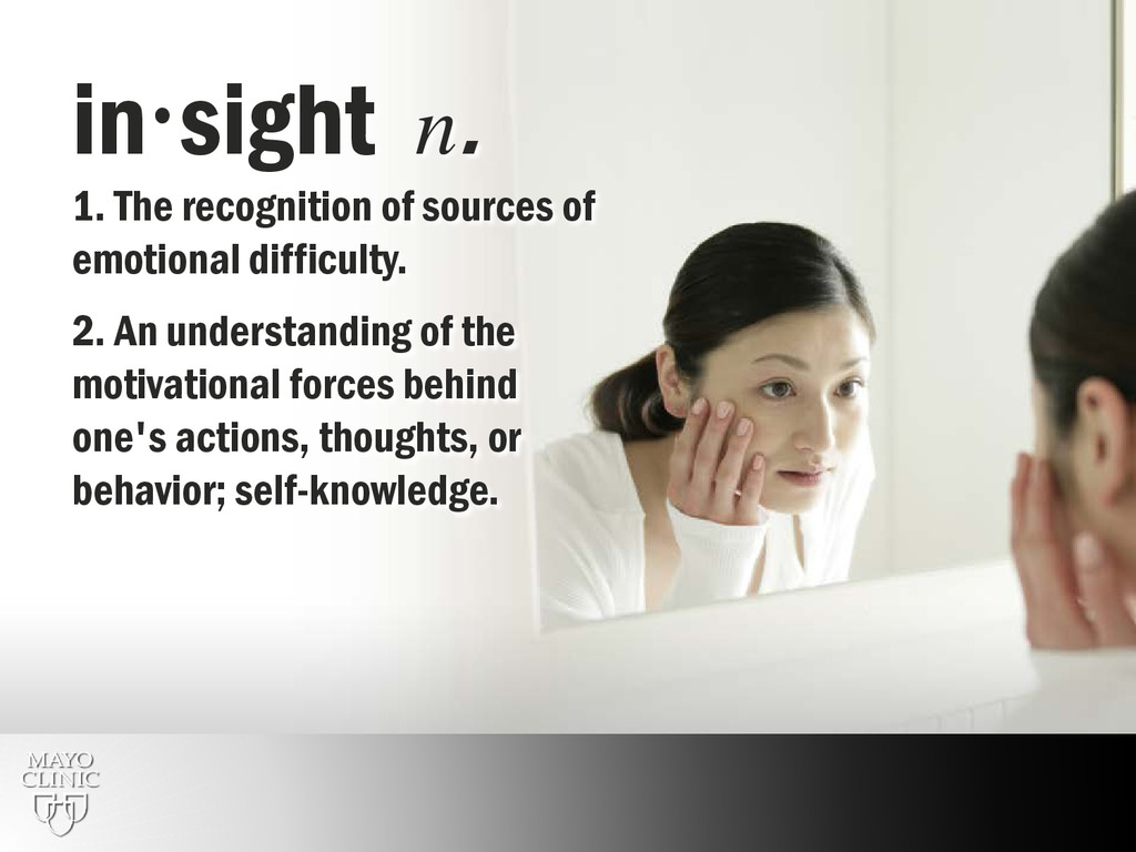 35 insight n. 1. The recognition of sources of...