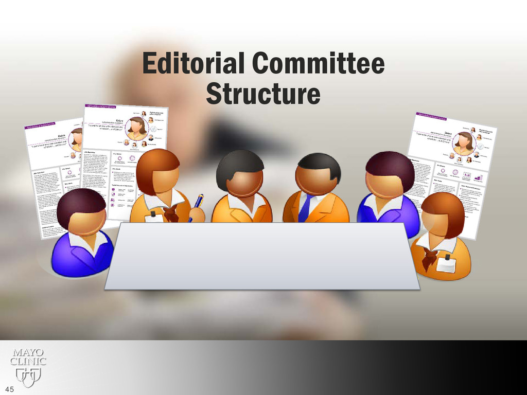 Editorial Committee Structure 45