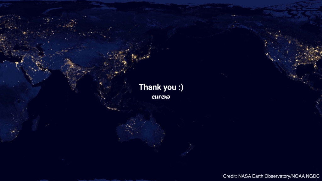 Credit: NASA Earth Observatory/NOAA NGDC Thank ...