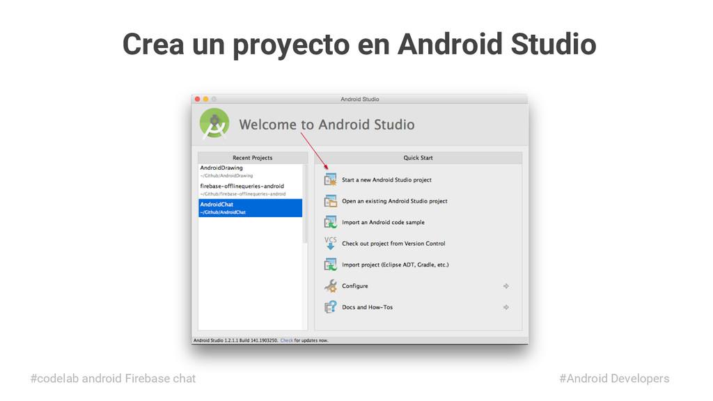 Crea un proyecto en Android Studio #Android Dev...