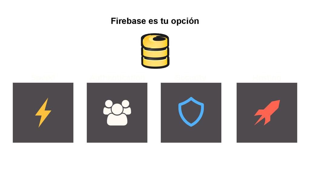 Firebase es tu opción