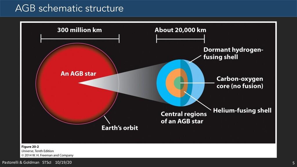AGB schematic structure 5 Pastorelli & Goldman ...