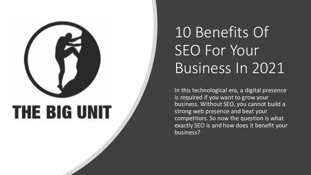 10 Benefits Of SEO For Your Business In 2021 In...