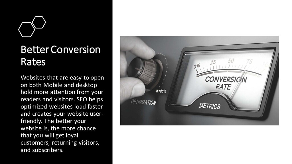 Better Conversion Rates Websites that are easy ...