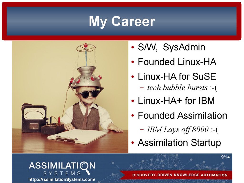 http://AssimilationSystems.com/ 9/14 My Career ...
