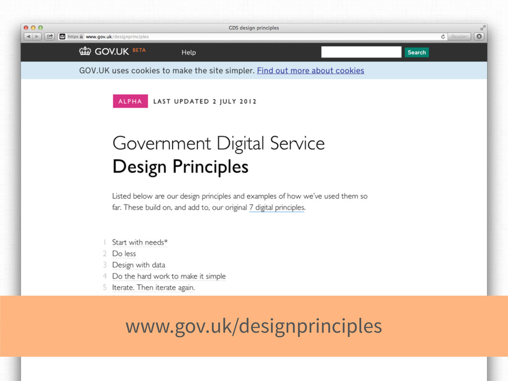 www.gov.uk/designprinciples