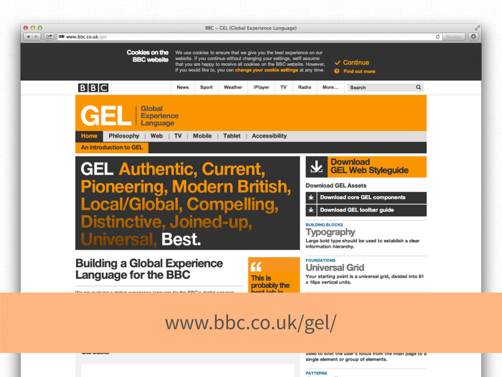 www.bbc.co.uk/gel/