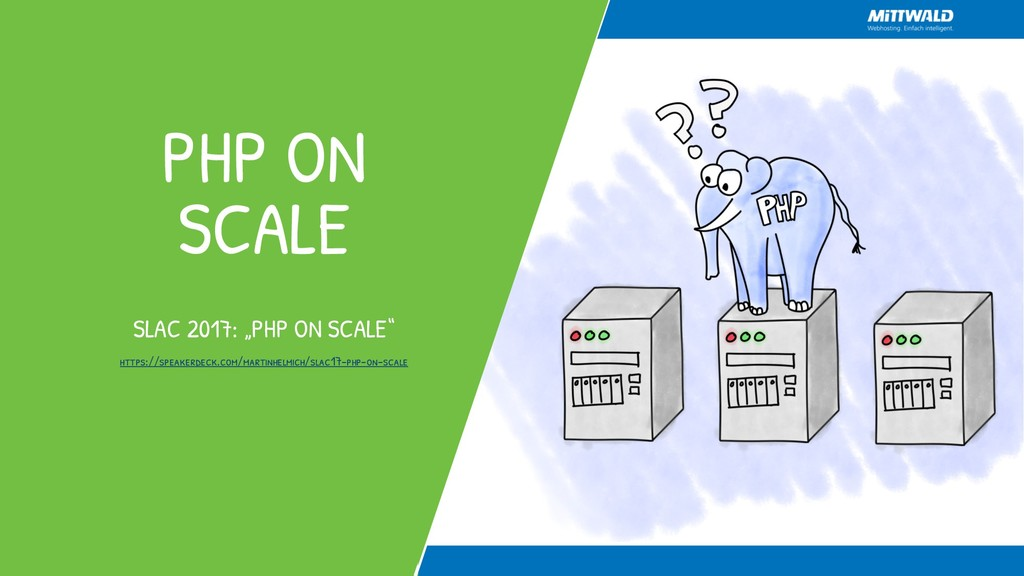 "PHP ON SCALE SLAC 2017: ""PHP ON SCALE"" https://..."