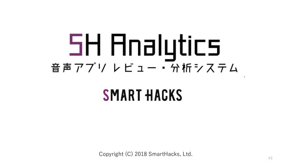 43 Copyright (C) 2018 SmartHacks, Ltd.