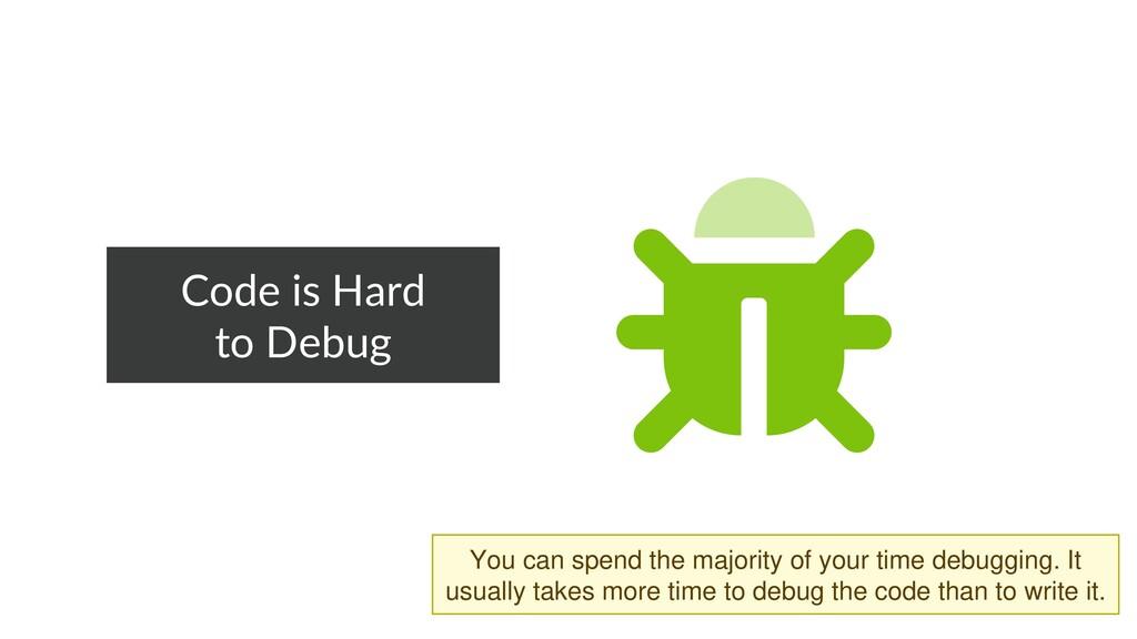Code is Hard to Debug