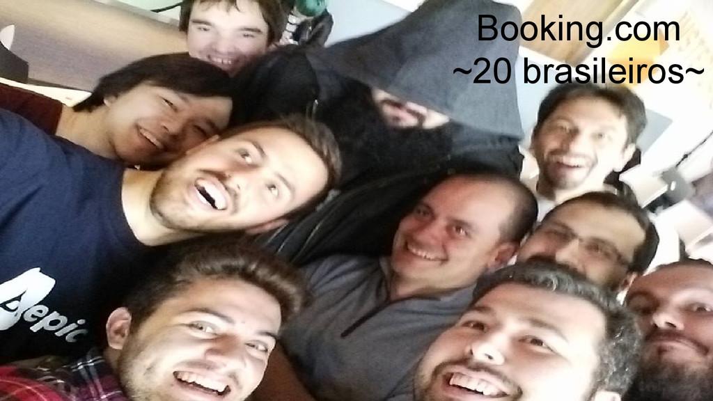 Booking.com ~20 brasileiros~