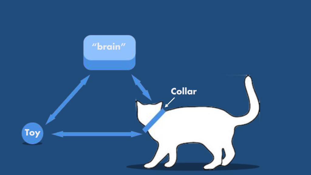 """brain"" Toy Collar"