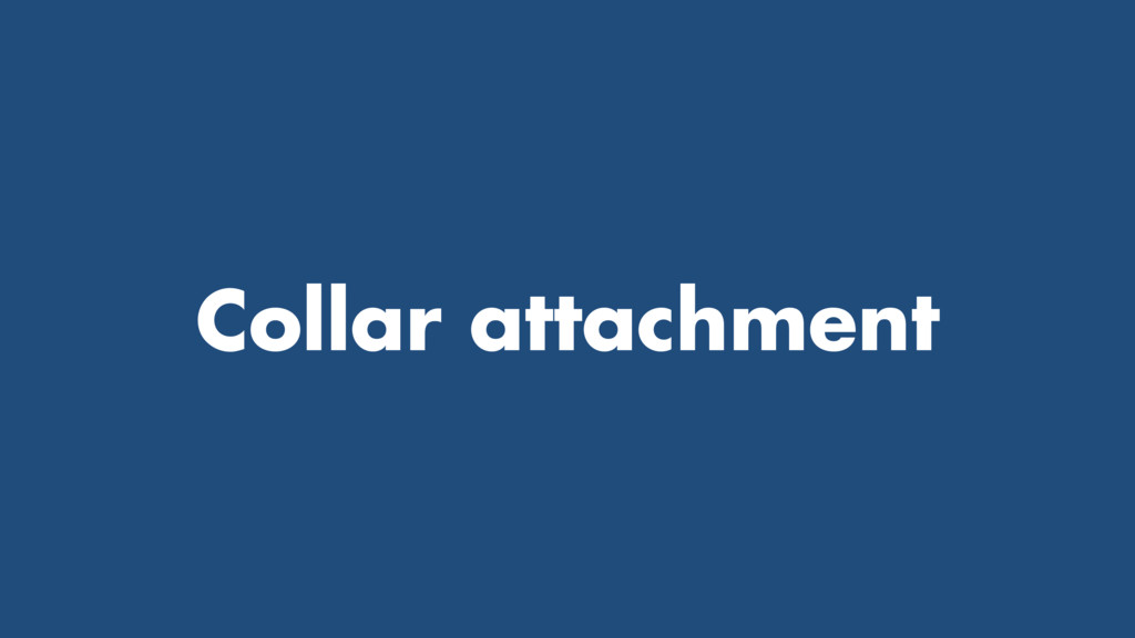 Collar attachment