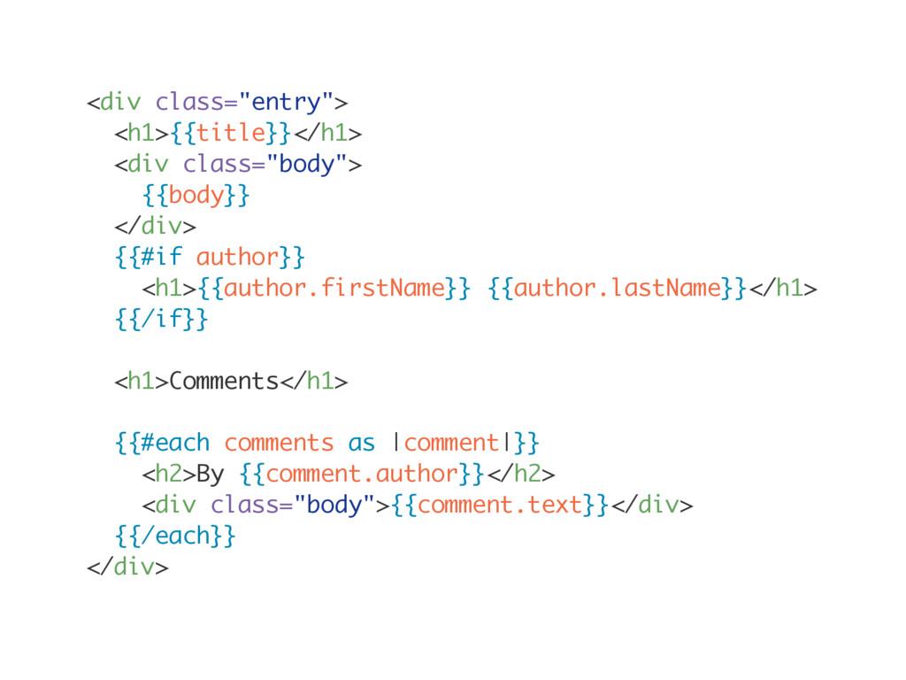 "<div class=""entry""> <h1>{{title}}</h1> <div cla..."