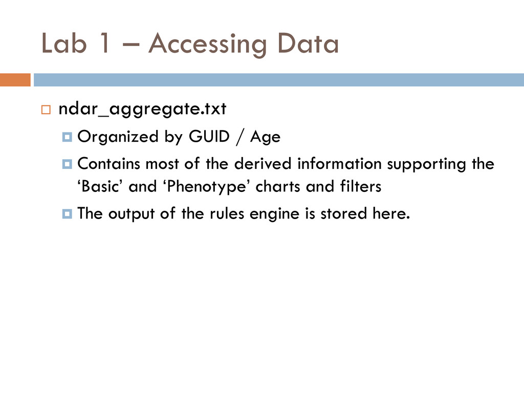 Lab 1 – Accessing Data  ndar_aggregate.txt  O...