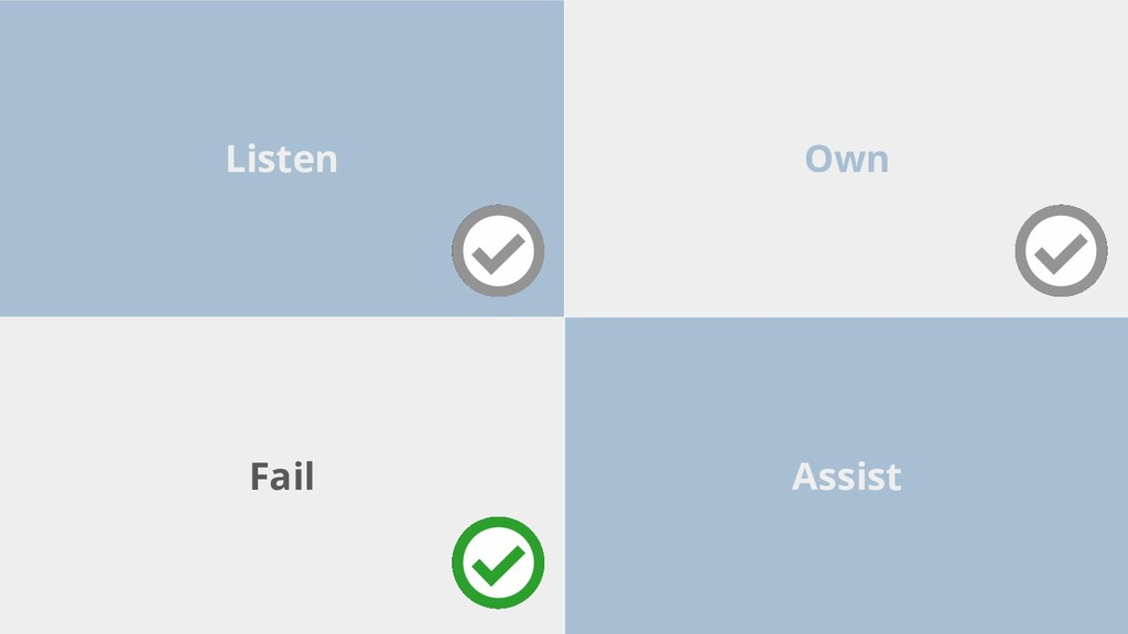 Own Listen Assist Fail