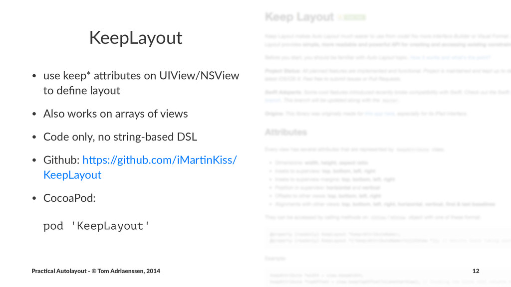 KeepLayout • use%keep*%a*ributes%on%UIView/NSVi...