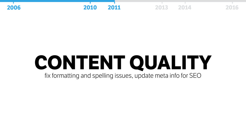 CONTENT QUALITY fix formatting and spelling iss...