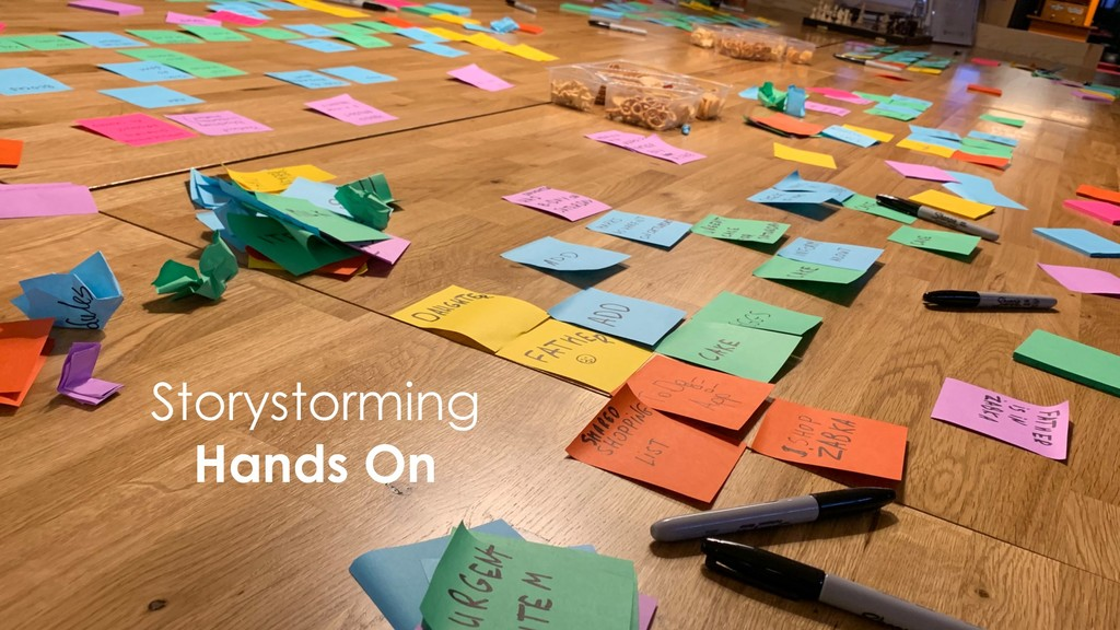 Storystorming Hands On