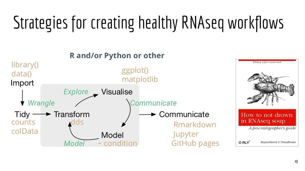 Strategies for creating healthy RNAseq workflows...