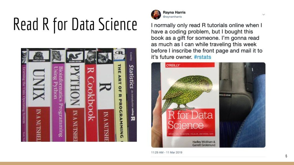 Read R for Data Science 6