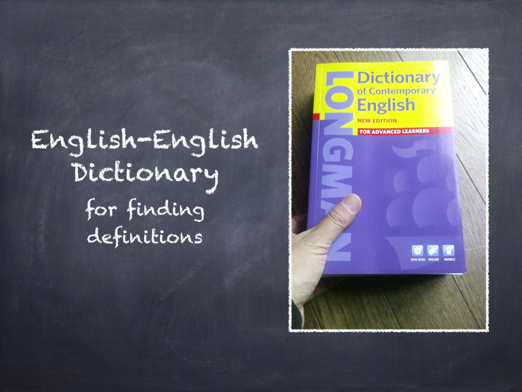 English-English Dictionary for finding definiti...