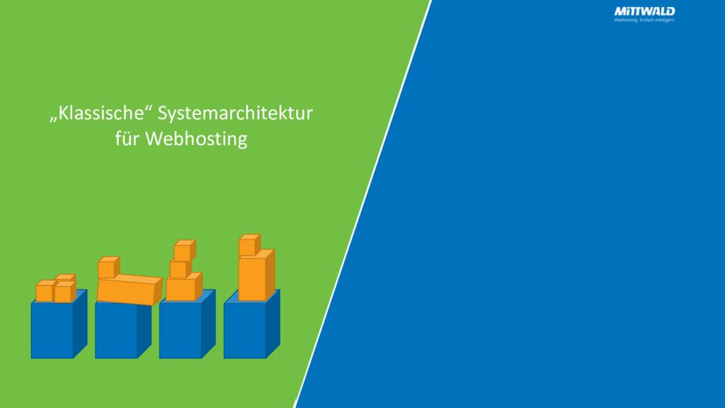 """""""Klassische"""" Systemarchitektur für Webhosting"""
