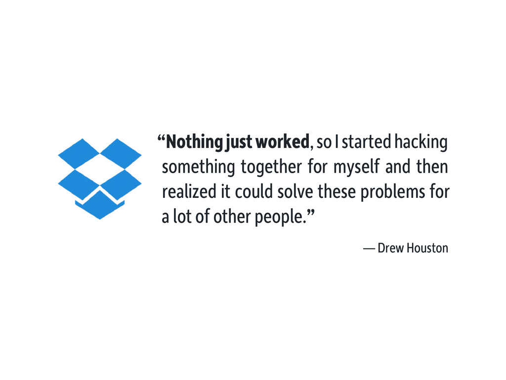 """""""Nothing just worked, so I started hacking some..."""