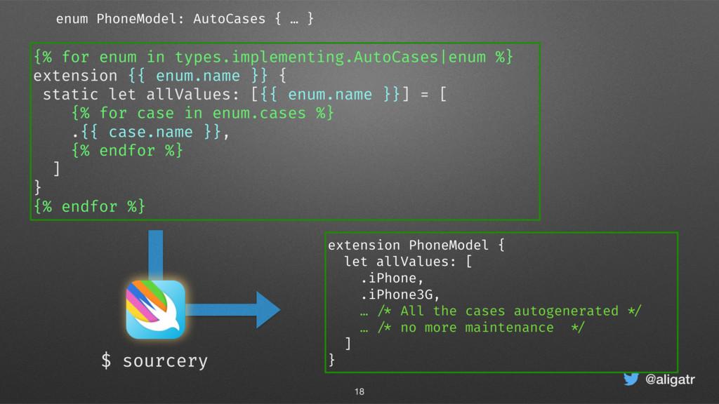 @aligatr extension PhoneModel { let allValues: ...