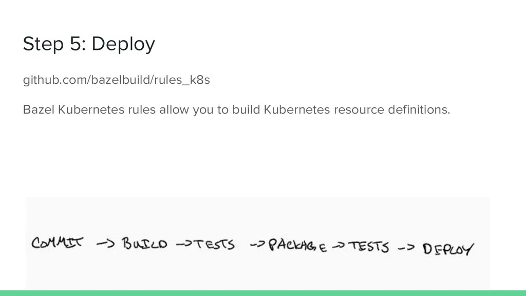 Step 5: Deploy github.com/bazelbuild/rules_k8s ...