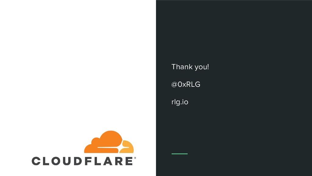 Thank you! @0xRLG rlg.io
