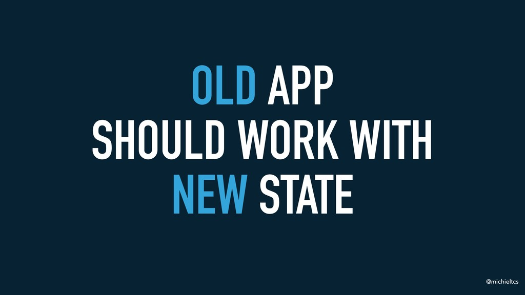 @michieltcs OLD APP