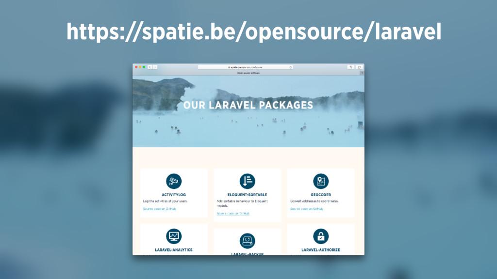 https://spatie.be/opensource/laravel
