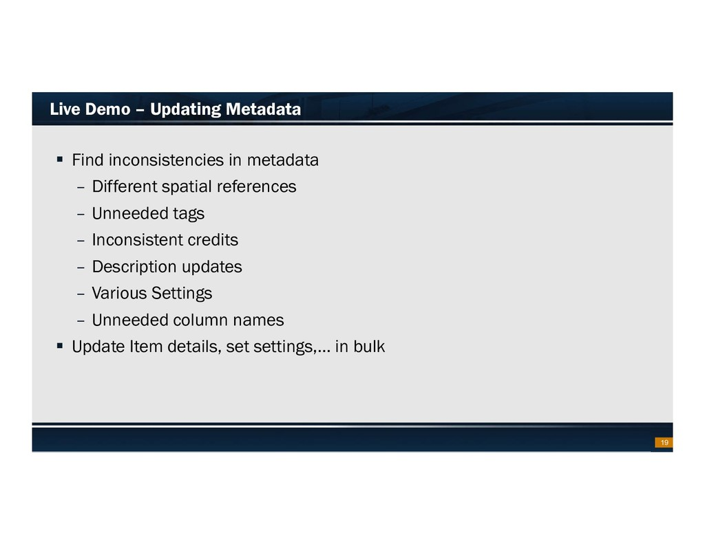 Footer Text Date Live Demo – Updating Metadata ...