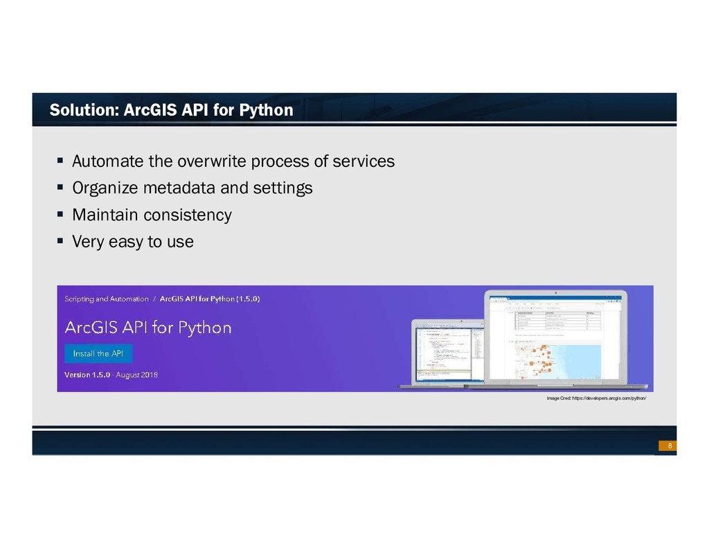 Footer Text Date Solution: ArcGIS API for Pytho...
