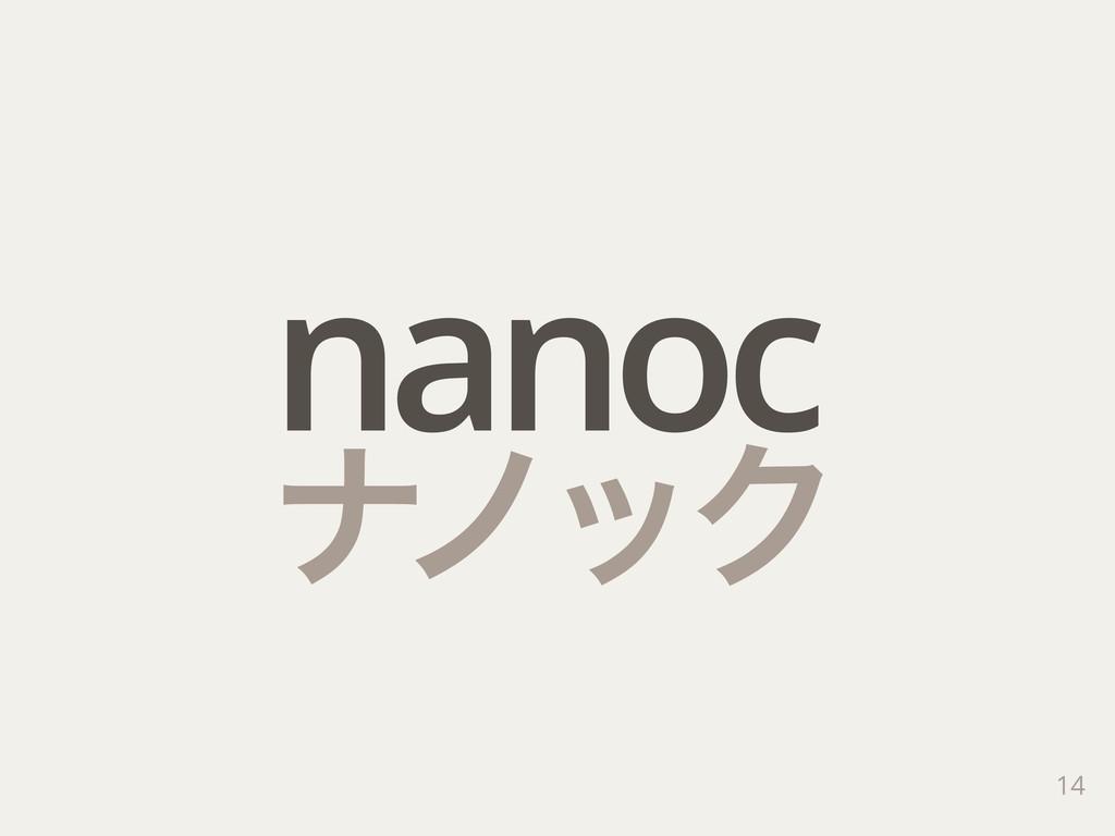 14 nanoc φϊοΫ