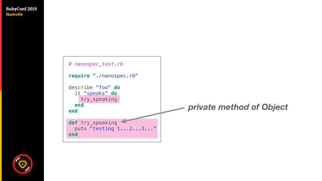 private method of Object # nanospec_test.rb req...