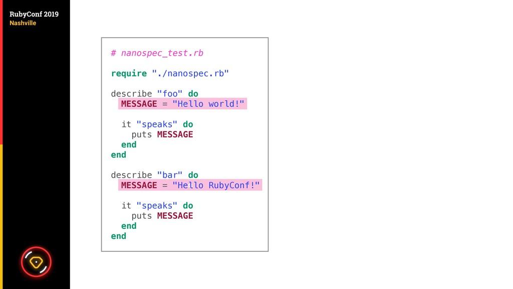 """≈ ≈ # nanospec_test.rb require """"./nanospec.rb"""" ..."""