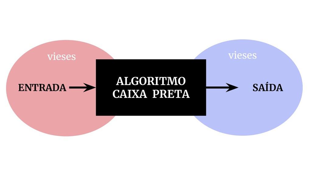 ALGORITMO CAIXA PRETA ENTRADA SAÍDA vieses vies...