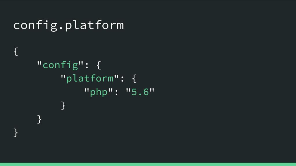 "config.platform { ""config"": { ""platform"": { ""ph..."