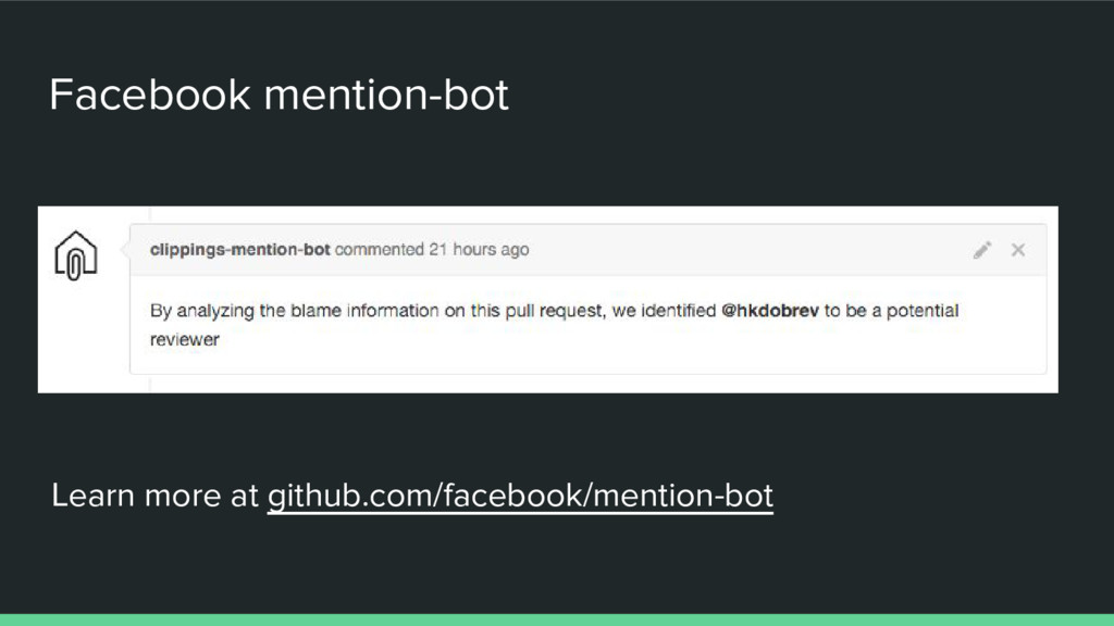 Facebook mention-bot Learn more at github.com/f...