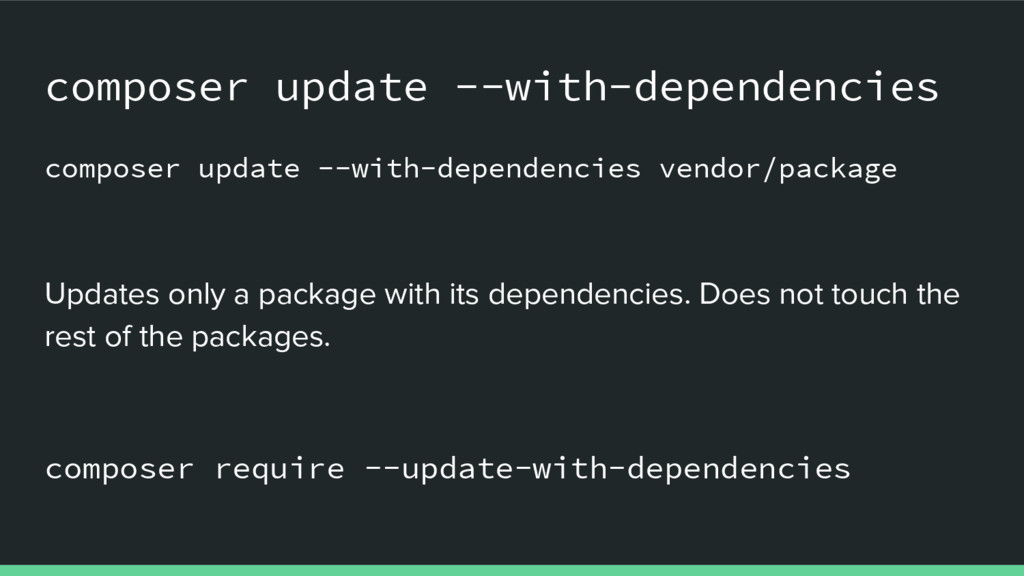 composer update --with-dependencies composer up...