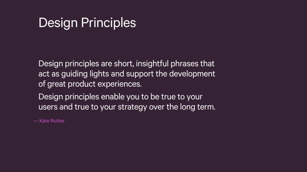 —Kate Rutter Design Principles Design principl...