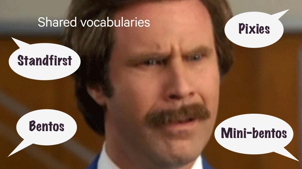 Shared vocabularies Pixies Bentos Standfirst Mi...