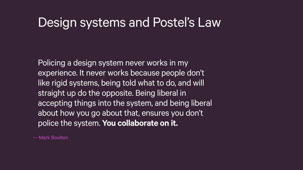 —Mark Boulton Design systems and Postel's Law ...