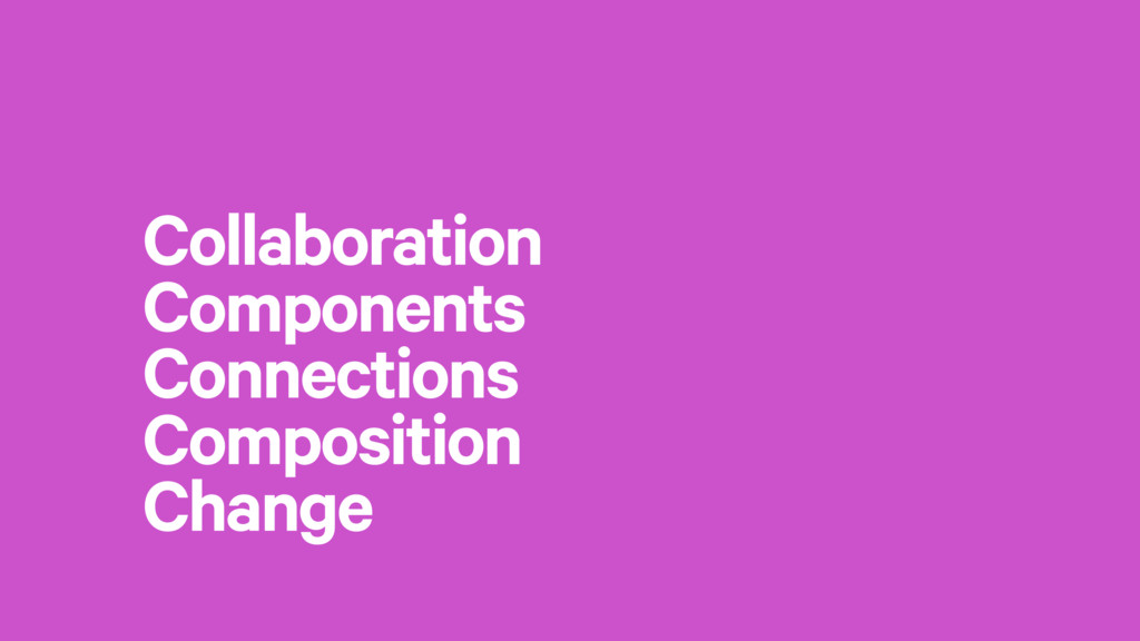 Collaboration Components Connections Compositio...