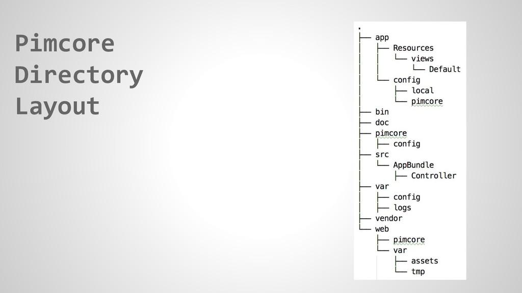 Pimcore Directory Layout