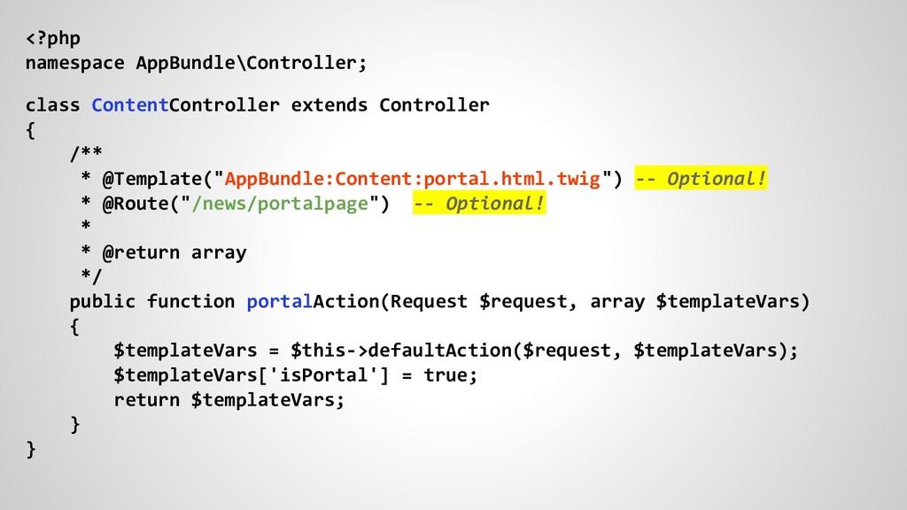 <?php namespace AppBundle\Controller; class Con...
